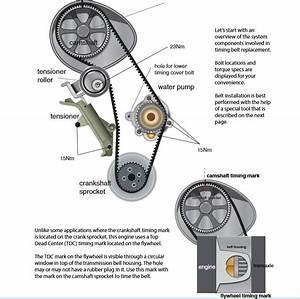 Audi Tt Mk1 1 8t  U0026 Vw Mk4 1 8t Timing Belt Installation