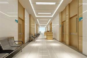 Hospital corridor interior design | 3D house, Free 3D ...