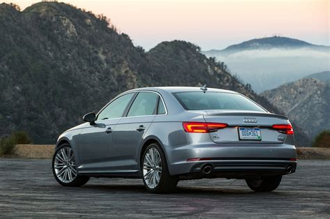 Audi A4 0 To 60 by 2017 Audi A4 Quattro Test Review