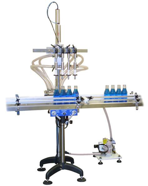 head benchtop overflow filling machine