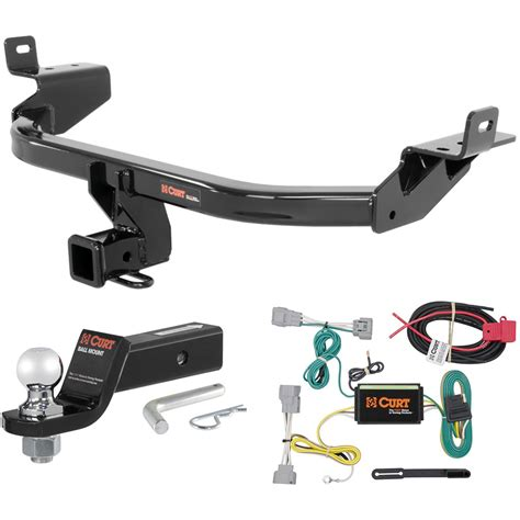 curt class  trailer hitch tow package   ball