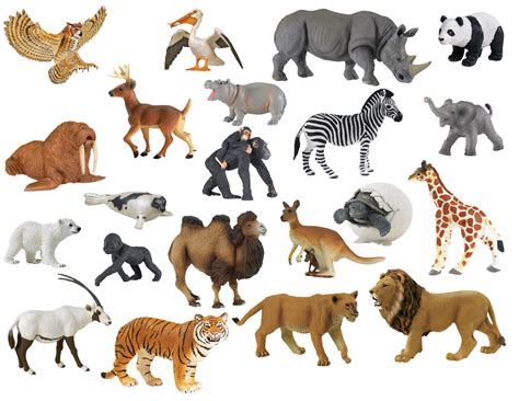zoo animals toys