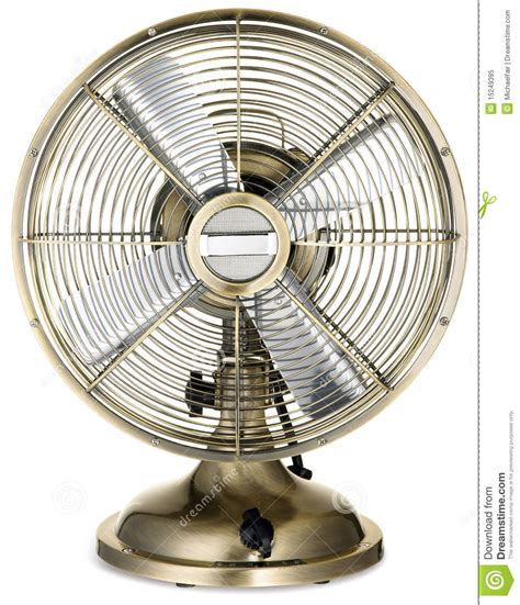 fashioned fan old fashioned retro silver and brass desktop fan royalty free stock photo image 15249395