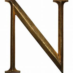 salvaged cast bronze letter quotnquot cincinnati oh from With bronze letters