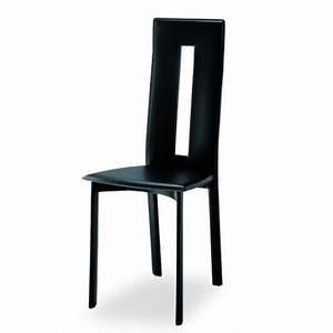chaise design cuir marseille et vente de chaise en cuir de With salle À manger contemporaineavec chaise cuir design