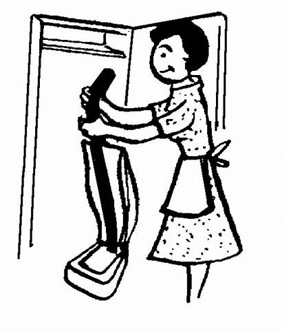 Housekeeping Clip Clipart Housekeeper Cliparts Keeping Cleaning