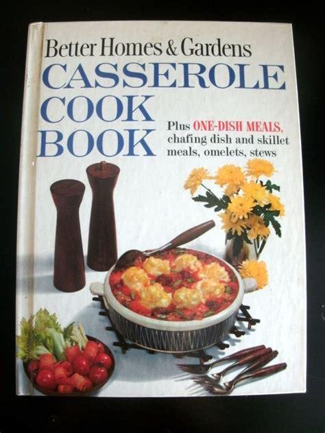 better homes gardens casserole cookbook 1961 vintage