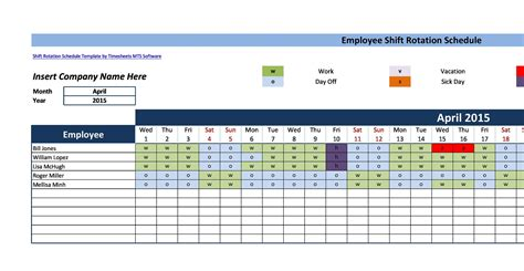 Many people wonder what type of shifts nurses work. 14 Dupont Shift Schedule Templats for any Company Free ᐅ ...