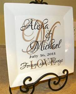 personalized wedding gift couple39s names and initial With personalized wedding gift ideas