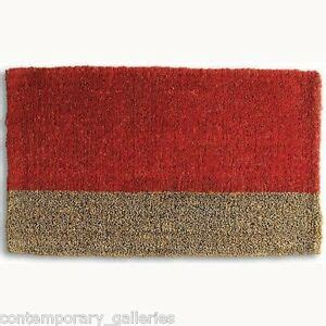 Modern Doormats Outdoor by Contemporary Modern Stripe Boot Scrape Coir Outdoor