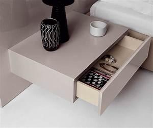 Bett Mit Nachttisch : schlafzimmer trends verstauraum neben dem bett ~ Watch28wear.com Haus und Dekorationen
