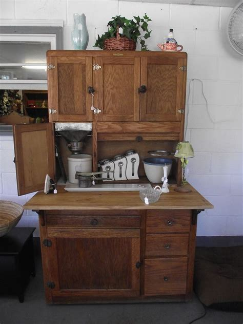 Primitive Hoosier Cabinets For Sale  Antique Hoosier