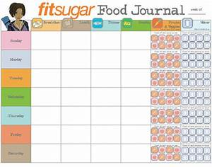 keep a food journal make it happen must dos to lose one With keeping a food diary template