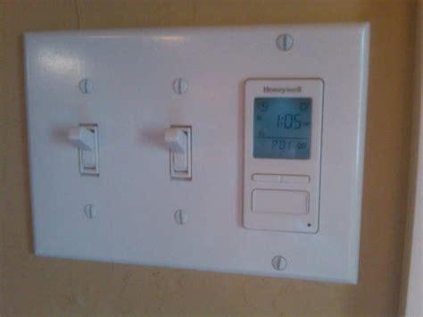 honeywell timer switch with sunrise sunset single or 3 way