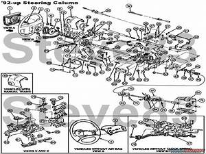 1992 Ford F 150 Steering Column Diagram