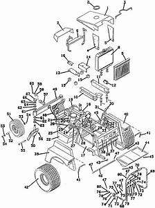 Grasshopper Lawn Mower 721 Tractor Assembly Parts Diagrams