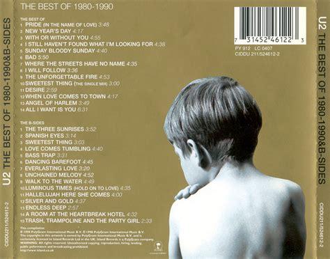 u2 the best of 1980 1990 caratulas de cd de musica u2 the best of 1980 1990 b