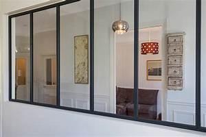 Verrière Atelier D Artiste : cr er une verri re pour une entr e de maison ou un couloir ~ Melissatoandfro.com Idées de Décoration