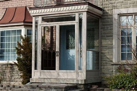 Enclosed Front Porch With Storm Door  Porch Enclosure In
