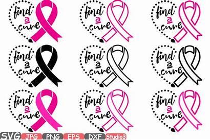 Clip Cancer Cure Svg Ribbon Breast Cricut