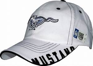 """Ford Mustang Cap """"White Pony"""" - US-car- and NASCAR- fashion"""