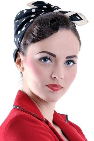 50s Hairstyle Hair by What Are Some Easy 50s Hairstyles Quora