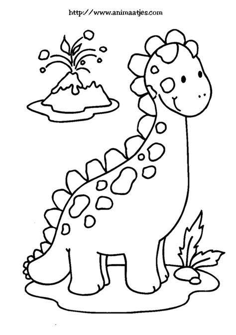 Kleurplaat Dino Masker by Kleurplaat Dino динозавры