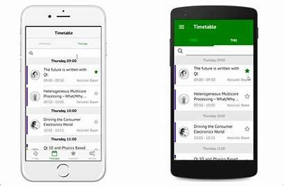 App Native Qt Navigation Mobile Apps Android