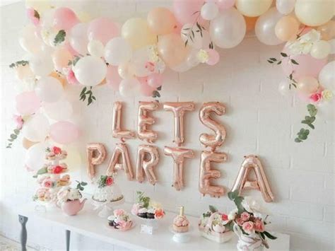 Pin by Kéziah on Annalise's Baby Shower | Girls tea party ...