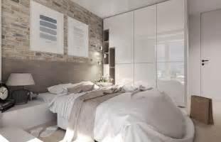 schlafzimmer mit dachschrgen gestalten kleine räume farblich gestalten wandfarbe und möbel