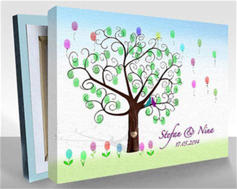 hochzeitsbaum als hochzeitsgeschenk fingerabdruck