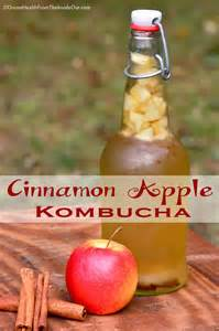 Apple Cinnamon Kombucha