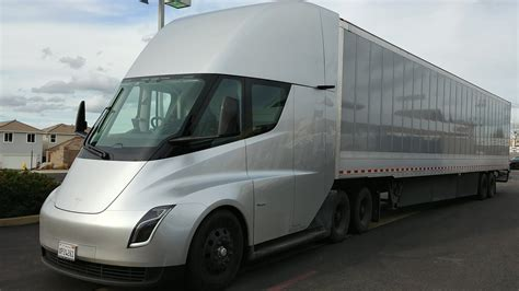 tesla semi electric truck  pre production review