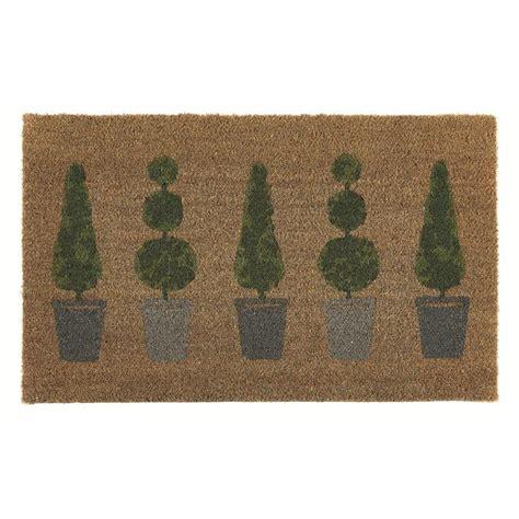 Topiary Doormat by Hug Rug Topiary Printed Door Mat From Ocado