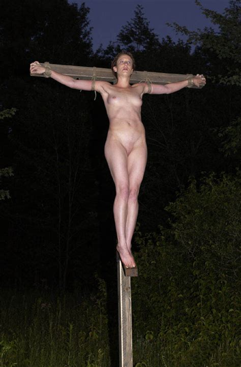 Crucified Bound Naked To A Cross 04 Pornhugocom | CLOUDY GIRL PICS
