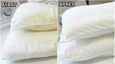 blanchir le linge jauni la meilleure m 233 thode pour laver et blanchir un oreiller jauni