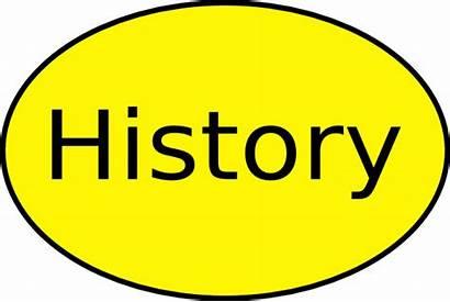 History Clip Clipart Label Cliparts Historian Vector