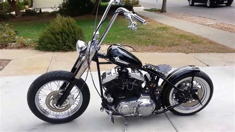 Harley Bobber Fresh Build For Sale 00