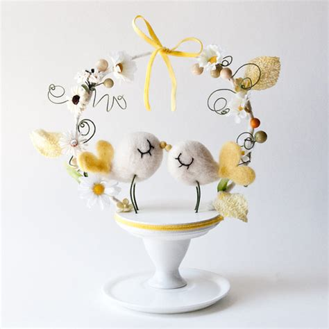 birds wedding cake topper birds oh so sweet wedding cake toppers chic