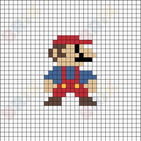 pixel super mario brik
