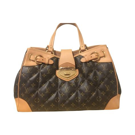 louis vuitton limited edition quilted monogram etoile shopper tote bag modsie