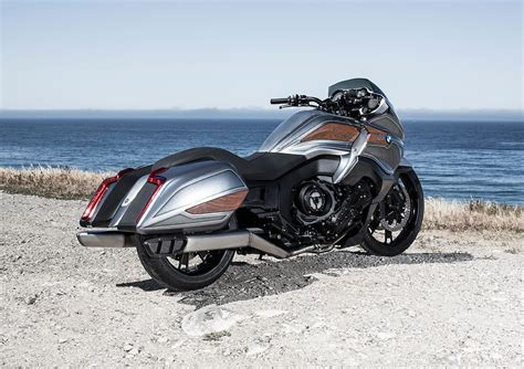 new bagger bmw motorrad concept 101 the spirit of the open road motorcycle parts and
