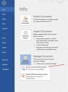 how can i recover a word document With buy word document