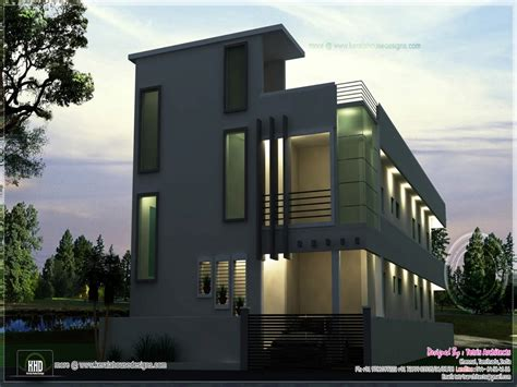 Residential Building Elevation Residential Apartment