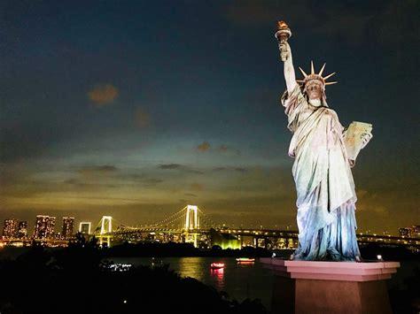 Piedistallo Statua Della Libertà by La Statua Della Libert 224 A Tokyo