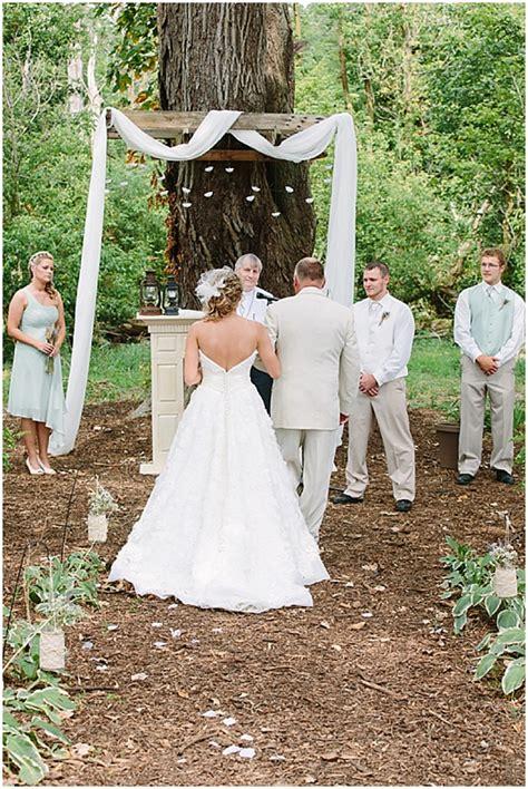 Intimate Estate Wedding  The Budget Savvy Bride