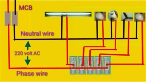 house wiring  home wiring connection diagram youtube