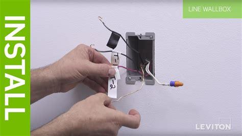 Leviton Way Switch Wiring Input