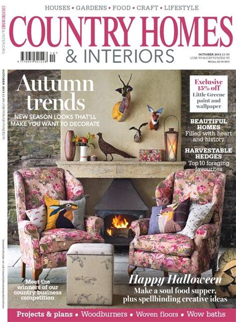 country home and interiors magazine country homes interiors magazine october 2013