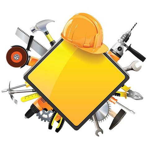 construction tools clipart construction site clip vector images illustrations